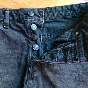 Free People Shorts - Free People Black Jean Shorts